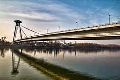 Bratislava - UFO Bridge (Declan.Flynn) Tags: bratislava ufo mostsnp refl reflection slovakia