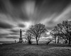 Coombe Hill (Stuart Feurtado) Tags: memorial leefilters monument le outdoor chilternhills bigstopper buckinghamshire tree longexposure blackandwhite bucks sky monochrome daytime chilterns movement nationaltrust coombehill