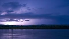 Thunderstorm on the Oka river / Гроза на Оке (dmilokt) Tags: река гроза ночь облако nikon d700 cloud storm night пейзаж landscape поход trip river природа nature dmilokt