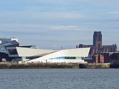 Museum of Liverpool, Liverpool, England (teresue) Tags: 2017 england uk greatbritain liverpool merseyside liverpoolcathedral museumofliverpool rivermersey albertdock