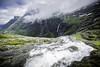 Troll's Waterfall (Jø Dåg) Tags: troll trollstigen norge norway waterfall sky mountain landscape 5d canon