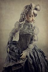 Victoria (dolls of milena) Tags: bjd abjd resin doll hakurin ordoll nyx portrait vintage retro