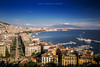 Napoli the city of the sun. (Emykla) Tags: napoli campania italia italy sea vesuvio vulcano volcano sky città city town nikon d3100