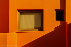 Architectural Abstract, Santorini (HarrySchue) Tags: greece santorini architecture abstract boldcolors highcontrast shapes colors nikon d800e bwfilters sigmalens