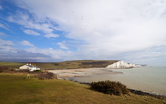 Cuckmere Haven East Sussex (Splat Photo) Tags: cuckmere haven east sussex white cliffs sea coast beach seven sisters