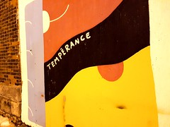 Tempérance (Fred:) Tags: tempérance painted words mural murale murals murales verdun mot puzzling temperance montréal montreal wall night shot nuit nightshot