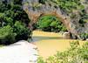 Le Pont d'Arc (jean-daniel david) Tags: france ardèche vallonpontdarc rivière pont darc arbre vert rocher feuillage forêt plage nature paysage canoe
