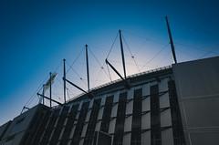 Stadium (SonnySixteen) Tags: sport building architecture color colour outdoor daytime daylight stadium melbourne sky