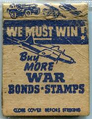 Matchbooks (gill4kleuren - 16 ml views) Tags: intage old scan maps sigarets art matchbooks matchcover matches smoking text sign circle writing duty war bonds stamps