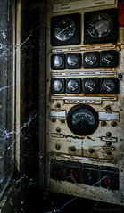 Urbex - DSC0970 small (cleansurf2 Urbex) Tags: urbex urban decay age guage cobweb dial photography old industrial ilce7m2 industry interior urbexer texture rustic emount element a7ii sony dark heritage machinery natural vintage