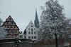 snow@Ulm, Germany (Amselchen) Tags: church minster oldcity citywall snow season earlyspring germany fujifilm fujifilmxseries xt2 zeiss carlzeiss planar touit1832 fujifilmxt2