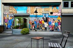 Pike Place 50 (Krasivaya Liza) Tags: pike place market pikeplace pikeplacemarket flowers fish veggies stalls vendors fruit seattle wa washington state pac northwest pacific puget sound waterfront city urban cityscape street streets art snow snowy winter feb 2018