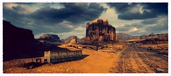 The Last Mile (~Scimo~) Tags: highway truck wasteland rock clouds wreck ps4 screenshot madmax