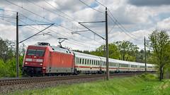 Muessen Wiese IC 2373 HST - KA 101 034-7 (Wolfgang Schrade) Tags: ic intercity br101 1010347 db kbs100 müssen zug eisenbahn