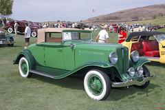 1931 Auburn 989A Cabriolet (Pat Durkin OC) Tags: car convertible cabriolet foldingtop 1931auburn acd auburn cord duesenberg model898a green whitewalltires wirewheels frontwheeldrive