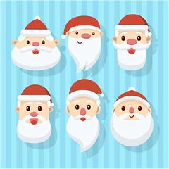 free vector illustration design of Santa faces for Christmas holidays (cgvector) Tags: beard card cartoon celebration character christmas claus collection cute december design drawing face festive flat fun funny glasses greeting happy hat head holiday illustration merry new red retro santa season set stylized vector vintage winter xmas year
