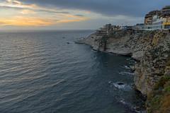 The beginning of the sunset in Beirut, Lebanon (Ingunn Eriksen) Tags: sunset coast coastline beirut lebanon nikond750 nikon