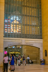 Grand Central Terminal, New York (Oleg.A) Tags: museum style usa newyork interior manhattan city inside megalopolis town architecture gold design yellow viewpoint grandcentralterminal nyc america golden unitedstates us