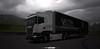 A rainy day w/ Vectra International [ETS2] (gripshotz) Tags: scania r450 e6 krone profiliner vectra international romania brasov euro truck simulator ets 2