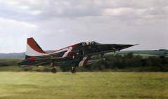 The Dashing Dutchman (crusader752) Tags: royalnetherlandsairforce klu koninklijkeluchtmacht northrop nf5a freedomfighter k3028 display 1979 internationalairtattoo rafgreenhamcommon pilot hanskönings no313squadron specialmarks