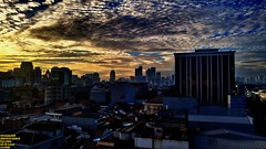 The golden blue hour or the bluish golden hour? (Ferry Octavian) Tags: lg g4 smartphone phone cameraphone android handheld manual metro metropolis city cityscape modern building skyscraper tower hirise highrise high rise architecture design structure exterior office apartment hotel condo condominium dusk sunset sun sky skyline horizon goldenhour beautiful cloud cloudy wide gold golden blue hour jakarta indonesia capitalcity dki dkijakarta java southeast asia southeastasia downtown uptown cbd central favehotel cideng room view capital house residential area resident home