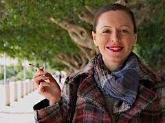 Mamma (alessi.vittorio1) Tags: panasonic gh3 portrait mum agrigento viale della vittoria 14140mm f4 smoke smile girl woman beautiful