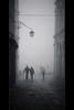 Silent Wanderings (Rodney Campbell) Tags: haze smog italy fog monochrome venice