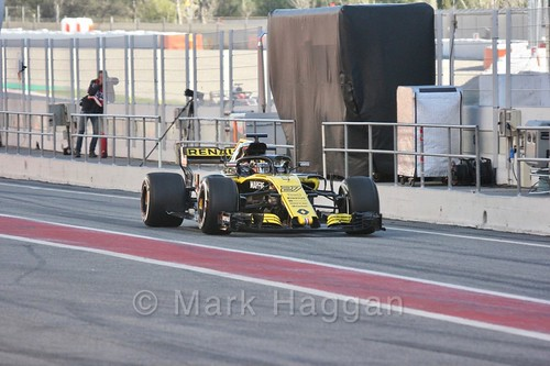 Nico Hülkenberg in Formula One Winter Testing 2018