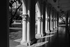CHIJ-1000139 (Gerald Woon) Tags: geraldwoon monochrone shadows chimes church arches