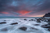 Kiss the sky (Mika Laitinen) Tags: canon5dmarkiv europe horizon lofoten norway norwegiansea scandinavia uttakleiv beach cloud colorful dreamscape landscape longexposure mountain nature ocean outdoors rock sea seascape shore sky sunrise water wave winter nordland no