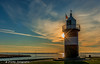 Der Preuße (ullmannfrank) Tags: wremen leuchtturm ausenweser nordsee gegenlicht sonnenuntergang sunset