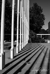 Mástiles (Angel Santana - Fotografía) Tags: biobio concepcion udec campanil universidad city arquitectura udeconce eosrebelt6 canonchile