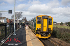 New-ish station, old-ish train (CS:BG Photography) Tags: sprinter nco newcourt exeter class150 150261 gwr greatwesternrailway avocetline