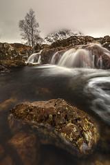 River Coupall Waterfall, Stob Dearg, Rannoch Moor nr Glencoe, Scotland (MelvinNicholsonPhotography) Tags: rivercoupall glencoe rannochmoor waterfall
