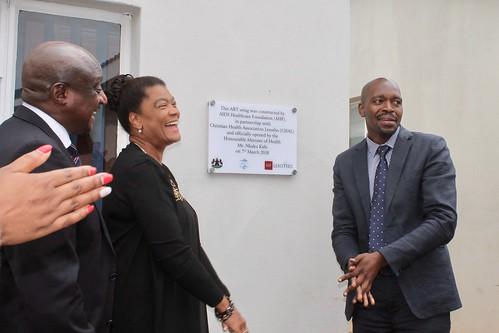 Maputsoe ART Clinic Opening, Lesotho - March 7, 2018