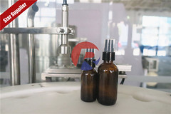 Amber Glass Bottle With Spray Pump Filling Capping Machine (Reliance Machinery Co.,Ltd) Tags: amberbottlefilling amberbottlingmachine amberbottlefillingcappingmachine glassbottlefillingmachine oilbottlefillingmachine spraybottlefillingmachine reliancemachinery reliance reliancefillingmachine rvf