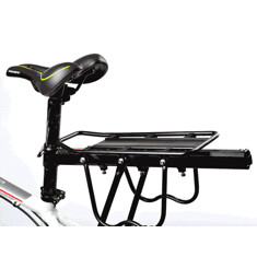 PROMEND 150kg Capacity Quick Dismantle Bicycle Racks Bicycle Luggage Carrier Aluminum Alloy Install Component (1151507) #Banggood (SuperDeals.BG) Tags: superdeals banggood sports outdoor promend 150kg capacity quick dismantle bicycle racks luggage carrier aluminum alloy install component 1151507