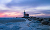 Winter Lighthouse III (mcalma68) Tags: lighthouse sunrise marken netherlands seascape het paard van
