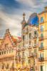 Casa Batlló, Barcelona (cee live) Tags: casa batllo house gaudi architecture balconies spain barcelona winter sunny multicoloured
