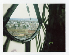 (.tom troutman.) Tags: polaroid land 250 instant film analog fuji fp100c abandoned pa packfilm