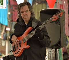 Player In The Band (Scott 97006) Tags: bass musician man player performing entertainer