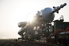 Expedition 55 Soyuz Rollout (NHQ201803190022) (NASA HQ PHOTO) Tags: kazakhstan expedition55 baikonur baikonurcosmodrome roscosmos kaz expedition55preflight nasa joelkowsky