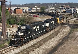 NS SD40-2 3393-A23