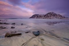 The jewel of North (Teemu Kustila Photography) Tags: approved sunset ilobsterit beach lofoten norway sunrise wave clouds landscape seascape