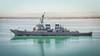 USS Lamboon (Richard_Turnbull) Tags: nikon d600 suez canal vessel ship uss lamboon warship destroyer navy