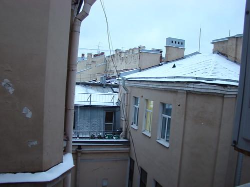 Крыши Петербурга ©  ayampolsky