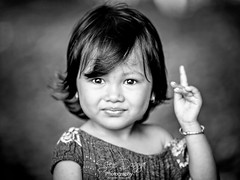 0S1A2925d (Steve Daggar) Tags: cambodia siemreap khmer candid portrait girl mono