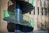 Spiral staircase (Norbert Stening) Tags: geländer rhein cologne treppe wendeltreppe köln