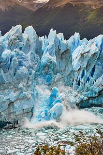 Calving of Perito Moreno