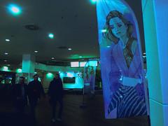 Fashion (JoséDay) Tags: fashion amsterdam mode reclame darklight colours passingby inthedark panasonic panasonictz10 prettyinblue